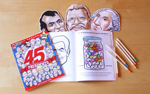 Collectible Inaugural Activity Book Features US Presidents!