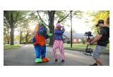 Raggs & Uncle Sam dancing for The 45 Presidents music video!