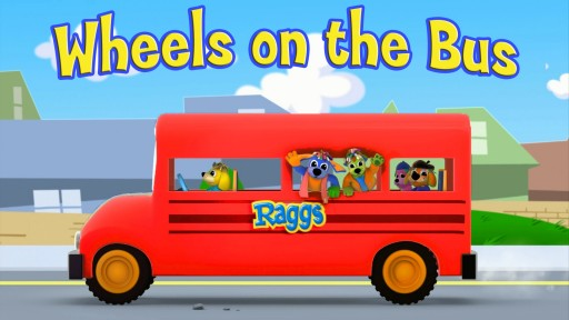 """Wheels On The Bus"" by The Raggs Band"